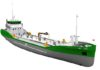 Groot Ship Design supplied the design for the pure-electric tanker for Japan