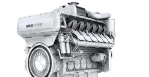 Der neue MAN 175D-Motor. ©MAN SE