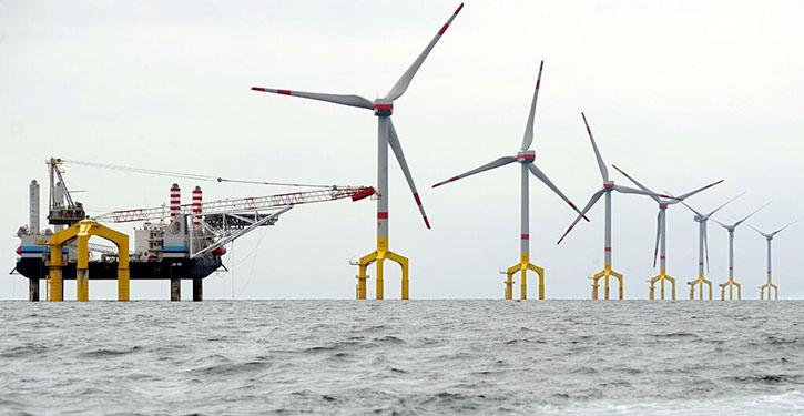 Windpower wird zu Kraftstoff