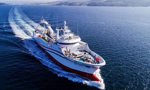 Trawler der Jupiter Fishing Company