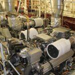 Die beiden MTU-Motoren 12V2000 leisten je 600 kW bei 1.800/min