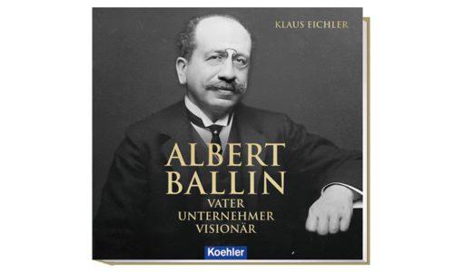 """Buchcover """"Albert Ballin"""""""