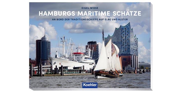 """Buchcover """"Hamburgs Maritime Schätze"""""""