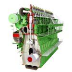 MAN ES engine, a 12-cyl 12G90 Mark 10