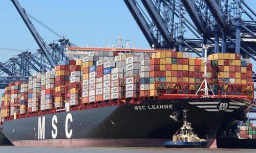 Containerschiff MSC LEANNE wird von Eastern Pacific Shipping bereedert