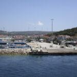 Der Fährhafen von Çeşme im Sommer 2017. Foto: Kai Ortel