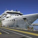 In ihrer Rolle als Wohnschiff hat die GEMINI im April 2019 in Cadiz festgemacht.