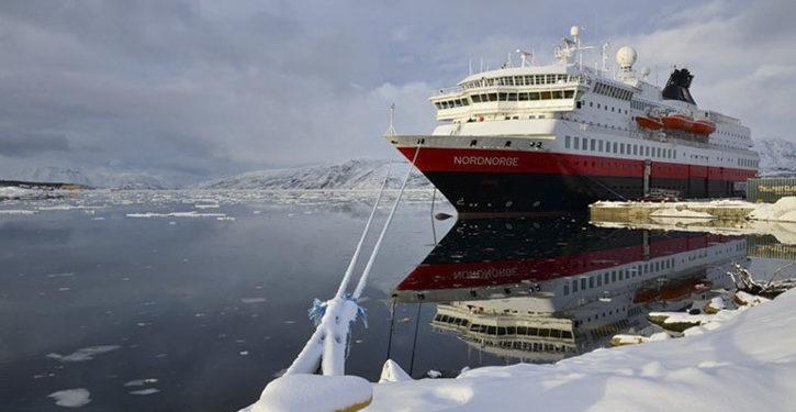 MS NORDNORGE wird als erstes Hurtigruten-Schiff auf Biogas umgerüstet