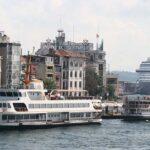 Kreuzfahrtschiffe in Istanbul