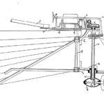 Ruderpropeller mit zwei Kegelradantrieben