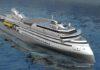 Schiff im Ulstein X-Bow Design