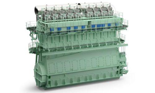 WinGD X82D-Motor als Dual-Fuel Antrieb