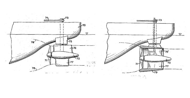Zeichnungen aus dem US Patent 2,714,866
