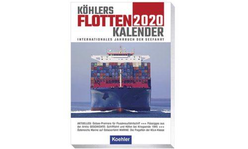 Buchcover Flottenkalender 2020