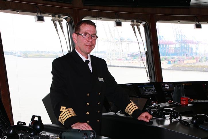 Kai Albrigtsen ist Kapitän auf dem Expeditionsschiff.