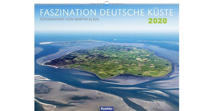 Cover Fotokalender Fastination Deutsche Küste