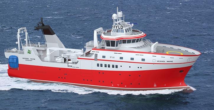 Das neue Fischereiforschungsschiff