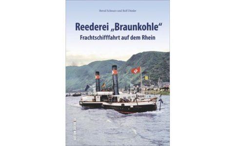 Buchcover Reederei Braunkohle. © Verlag