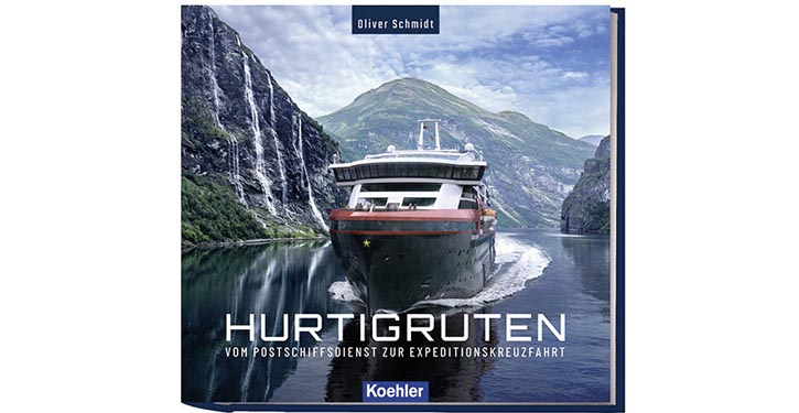 Buchcover Hurtigruten