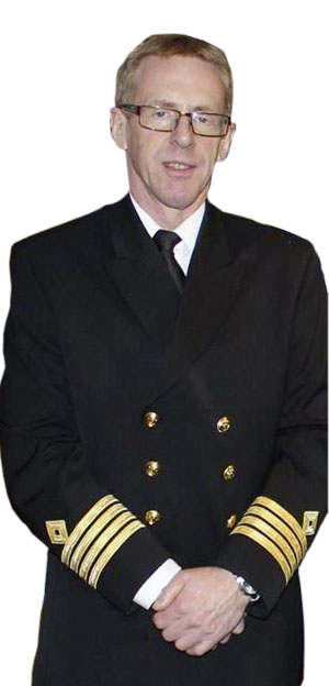 Kapitän Eivind Lande