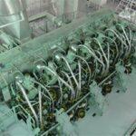 MAN ME-LGI Motor in einem Produktentanker.