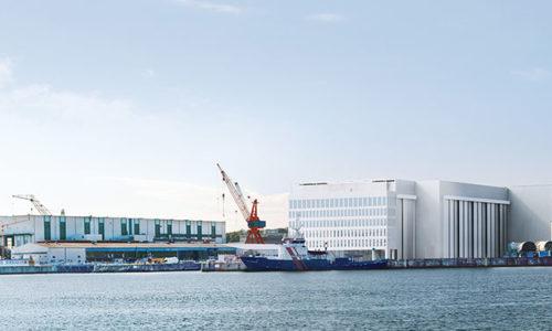U-Boot Werft in Kiel