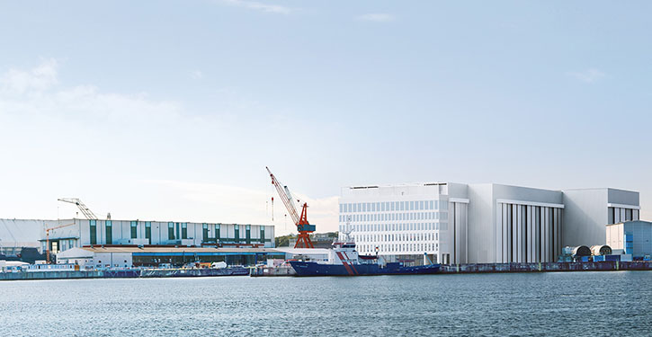 U-Boot Werft in Kiel