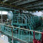 MAN B&W 7S60ME-GI Mehrstoffzweitaktmotor, der 12.600 kW an den Propeller übertragen können.