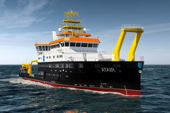 Die ATAIR ist das zweite deutsche Forschungsschiff, das mit Partikelfiltern von Hug Engineering ausgerüstet wurde.