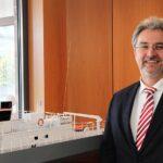 Carsten-S. Wibel, Geschäftsführer der Abeking & Rasmussen Special Vessels GmbH