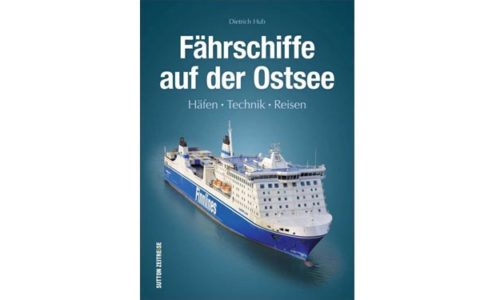 """Buchcover """"Fährschiffe auf der Ostsee"""""""