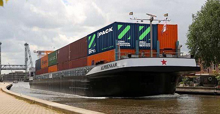 Wärtsilä und seine ZES-Partner setzen sich für die Förderung emissionsfreier Transporte auf Binnenwasserstraßen ein.