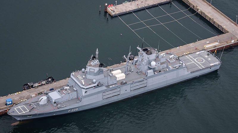 """Fregatte der """"Baden-Württemberg""""-Klasse (F125)"""