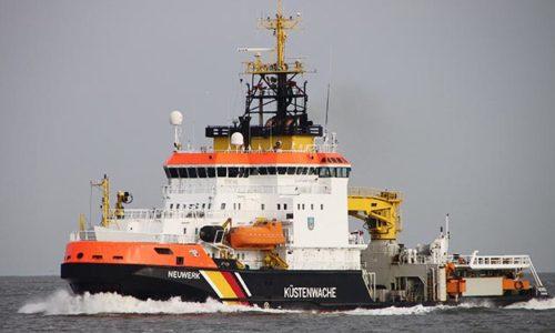 Spezialschiff der Küstenwache