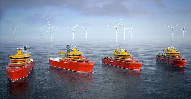 Der neue elektrische Voith Schneider Propeller wird für vier Offshore-Versorgungsschiffe der norwegischen Reederei Østensjø geliefert.