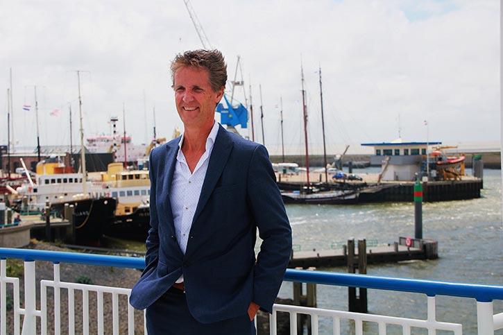 Paul Melles, Geschäftsführer der Reederei Doeksen